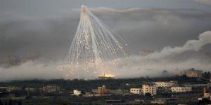 ABD ve Irak Ordusu Musul'un Sivil Bölgelerini Fosfor Bombasıyla Vuruyor