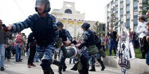 Rusya'da Hükümet Karşıtı Gösteriler: 650 Gözaltı