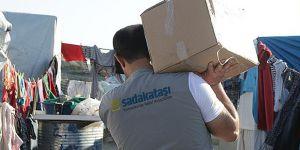 Suriye'de 20 Bin Kişiye Kumanya Dağıtıldı