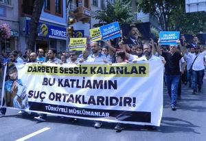 Mısır Direnişine İstanbul'dan Bin Selam
