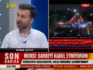 Kenan Alpay Ülke TVde Mısır Darbesini Konuştu
