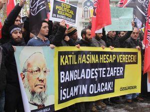 Abdulkadir Molla'nın İdamı Protesto Yürüyüşüyle Kınandı