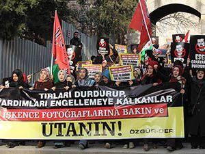 İşkenceci Baas Cuntası Fatih'te Protesto Edildi
