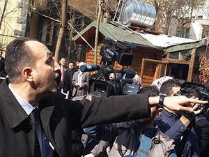 28 Şubat Eylemine Fethullahçı Saldırı
