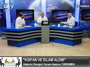 Kur'an ve İslam Aleminin Durumu Konuşuldu
