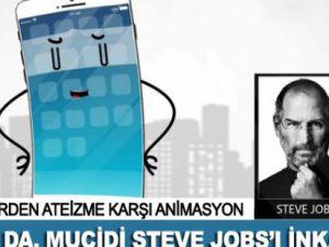 Ateist İPhone da Jobs'ı İnkar Etti