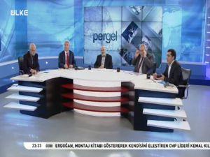 """Ülke Tv'de """"Türkiye'de Milliyetçilik"""" Tartışıldı"""