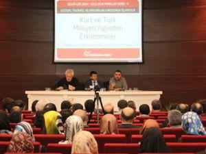"""""""Kürt ve Türk Milliyetçilikleri"""" Müzakere Edildi"""