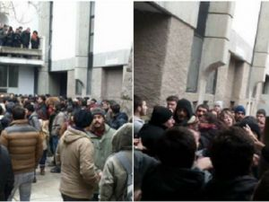 ODTÜ'de Solcu Çeteler Namaz Kılan Öğrencilere Saldırdı