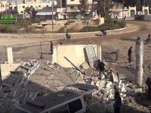 Rus Uçakları Azez'de Hastane Vurdu