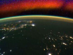 Uzaydan Dünya'nın Ufuk Çizgisi