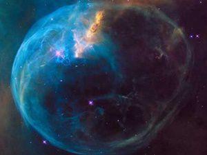 """Hubble Teleskobu """"Baloncuk""""u Görüntüledi"""