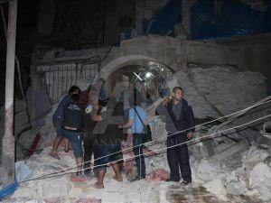 Rus Jeti Halep'te Sahra Hastanesini Vurdu