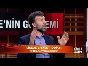 """Kenan Alpay CNN Türk'te """"Türkiye Gündemi"""" Programına Konuk Oldu"""