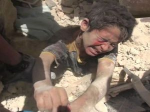 Halep'te Enkaz Altında Kalan Bir Çocuk mu, Yoksa Dünyanın Vicdanı mı?