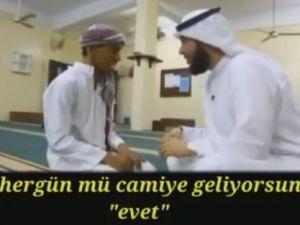 Engelli Bir Müslümanın Çabası!