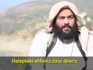 Ey Halepliler Müslümanlar Olarak Sizden Özür Dileriz
