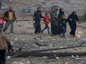 Halep'ten Tahliye Edilen İlk Konvoy