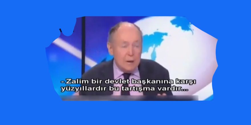 Batı Aydınının Geldiği Nokta: Erdoğan'a Suikast Düzenlesin!