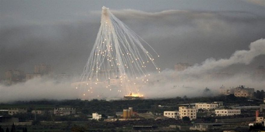 ABD ve Irak Ordusu Musul'u Fosfor Bombasıyla Vuruyor