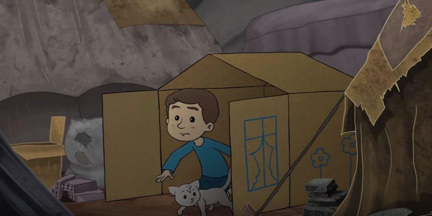 Bu Animasyon Suriyeli Bir Çocuğun Hikayesidir