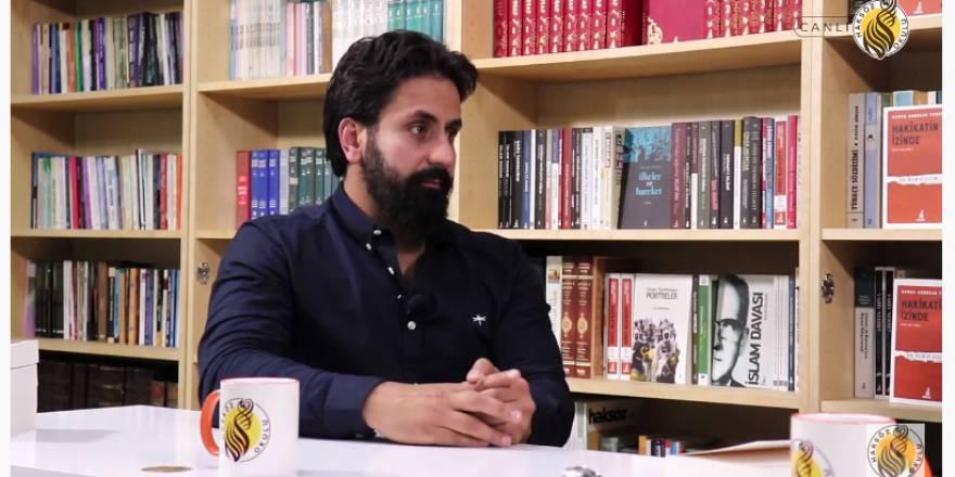 Hamza Tzortzis Haksöz Okulu'na konuk oldu