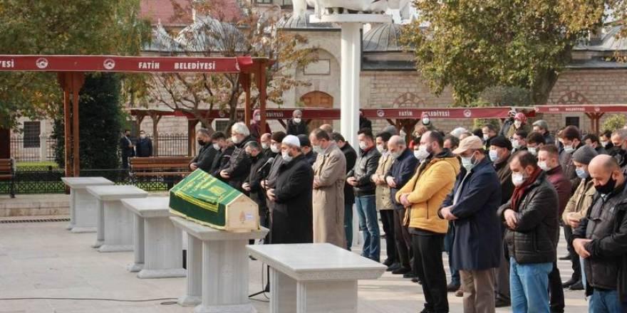 Necip Kibar ağabeyimizin cenaze namazı Fatih Camii'nde kılındı