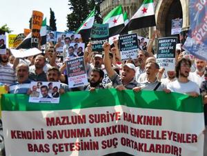 Suriye ve Arakan'da Yaşanan Zulüm Beyazıt'ta Lanetlendi